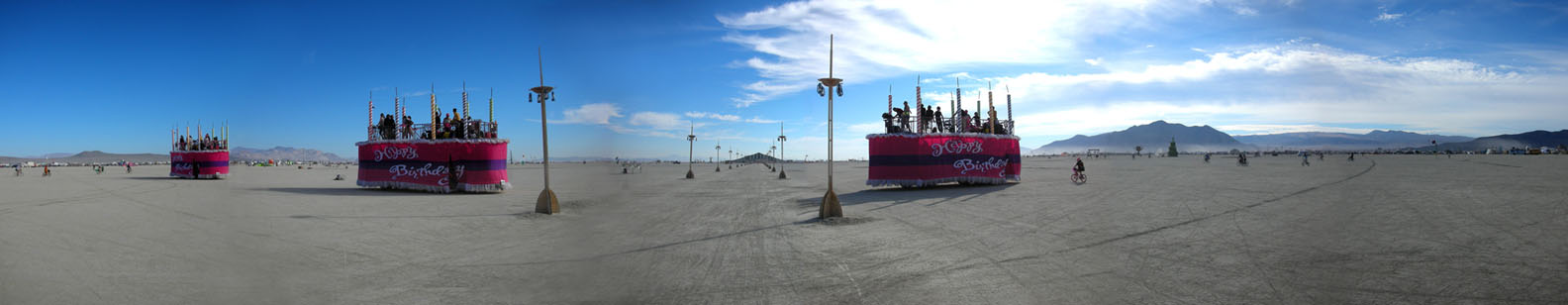 Panmagiccom Burning Man 2007 Panoramas