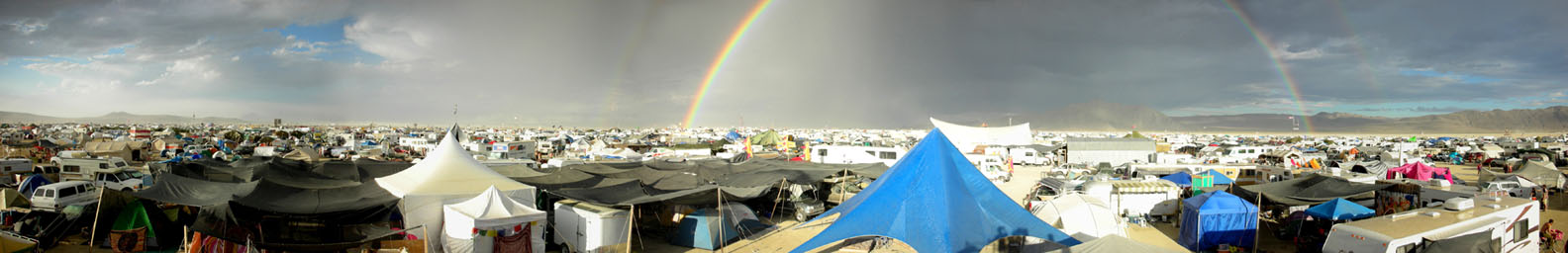 Rainbow over Otter Camp