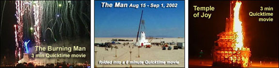 Burning Man Videos